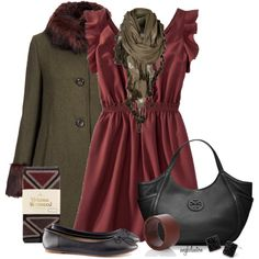 """""""Style This Merona Dress #3"""" by angkclaxton on Polyvore"""