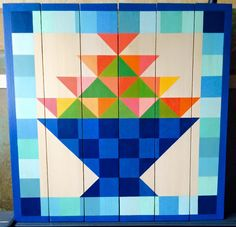 May Day. Barn Quilts by Chela