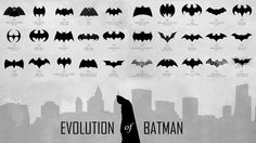 Evolution of Batman HD [1920 x 1080]