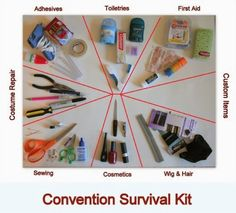 Simple Cosplay Tutorials: How to Make a Con Survival Kit