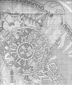 Borduurpatroon Kruissteek Mucha *Embroidery Cross Stitch Pattern ~Byzantine Heads: BLONDE (1897) 9/18~