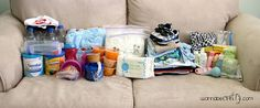 Infant (0-12 Month) 72 Hour Kit