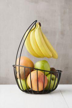 Point-Virgule Fruitschaal met bananenhouder Ø 24 cm | ColliShop Fun Cooking, Cooking Stuff, Le Point, Kitchen Utensils, Decorative Bowls, Watermelon, Tray, House Design, Interior Design