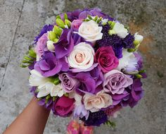 Shades of violet Shades Of Violet, Nasa, Wedding Bouquets, Floral Wreath, Wreaths, Bride Dresses, Flowers, Plants, Horsehair