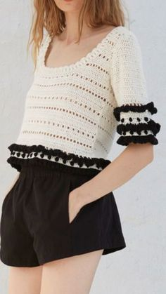 Mejores 343 Imagenes De Tejer En Pinterest Crochet Dresses