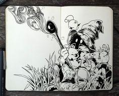 #319 Final Fantasy by 365-DaysOfDoodles.deviantart.com on @DeviantArt