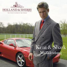 Kent + Shark Germany Cashmere Maßanzug  http://www.the-big-gentleman-club.com/kent-shark-anzug-cashmere-swan-hill-nach-mass-xxl-uebergroesse.html 160 ´ s Luxus Maßanzug English Style, bestehend aus Sakko und Hose, in den Paßformen Kurz, Normal, Lang + Bauch in allen Größen. Made in Germany. Bunch HS 1180 aus feinen, englischen Tuchen von HOLLAND & SHERRY, London, Savile Row