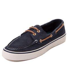 Navy blue sperrys