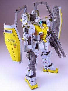 Painted Build: HGGT 1/144 GM [Gundam Thunderbolt ver.] - Gundam Kits Collection News and Reviews