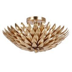Buy the Crystorama Lighting Group Antique Gold Direct. Shop for the Crystorama Lighting Group Antique Gold Broche 4 Light Wide Semi Flush Bowl Ceiling Fixture and save. Gold Ceiling Light, Ceiling Lights, White Ceiling, Room Lights, Ceiling Fan, Ceiling Fixtures, Light Fixtures, Semi Flush Lighting, Light In