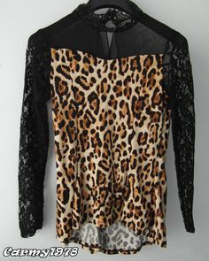 blouse leopardata