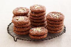 Chocolate Amaretti Cookie Recipe by Giada De Laurentiis | GiadaWeekly.com
