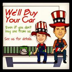 Do we buy cars? Yup! Call 336-767-3432
