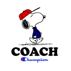 Check out the design, Peanuts Snoopy Coach, on MelissaRHill – available on a range of custom products Peanuts Characters, Dark Disney, Increase Sales, Typography, Lettering, Funny Hoodies, Bible Crafts, Peanuts Snoopy, Special Characters