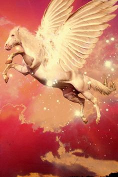 More Mystical, Mythical, Magical Board: Pegasus Unicorn Art, Magical Unicorn, Unicorn Fantasy, Magical Creatures, Fantasy Creatures, Pegasus, Unicorns, Magic Realms, Mythical Dragons