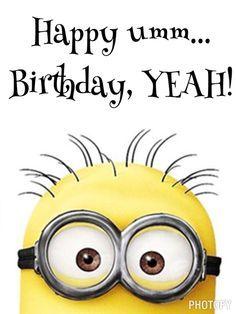 Happy Birthday Minion