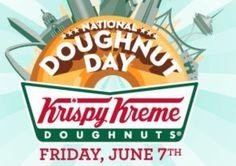 FREE Krispy Kreme Doughnut June 7th, 2013!