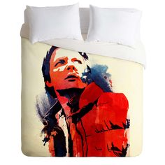Robert Farkas Marty McFly Duvet Cover | DENY Designs Home Accessories