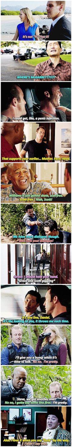 season 6 gag reel #hawaii five 0 #alex o'loughlin #scott caan #daniel dae kim…