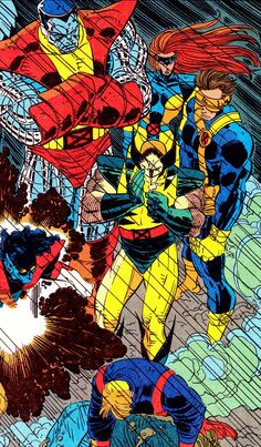 "moonbakerey: "" jthenr-comics-vault: "" The Uncanny X-Men By John Romita Jr. (pencils), Dan Greene (inks) & Glynis Oliver (colors) "" this is the fucking x-men. no black leather, no bullshit "" Comic Book Artists, Comic Book Characters, Comic Artist, Comic Character, Comic Books Art, Marvel Comics Art, Marvel Dc Comics, Marvel Heroes, Anime Comics"