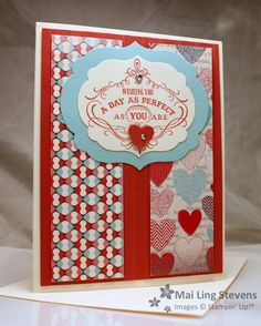See Julie Stamp - Julie Wadlinger, Stampin' Up! Demonstrator : Cards in the Mail Tuesday, January 29, 2013