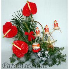 aranjamente florale de craciun - Căutare Google