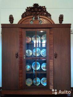 Шкаф старинный антикварный довоенный— фотография №1