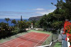 direkter Zugang zum Tennisplatz