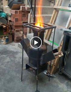 Resultado de imagen para estufa rocket planos - Salvabrani