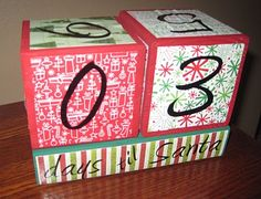 10 days of Christmas crafts- most of them are easy and inexpensive.  This one is great for my Scentsy display to remind people of how many shopping days are left.