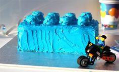 Another Lego cake idea