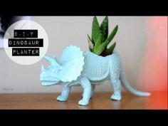 D.I.Y Dinosaur Planter!