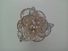 Flower brooch £15.00