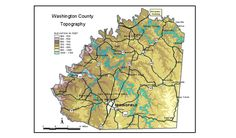 kentucky karst map groundwater resources of washington county kentucky