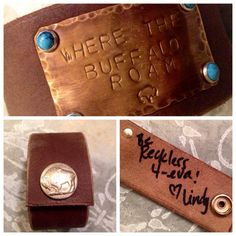 beautiful cuff crafted by the talented Lindy at Cowgirl Relics