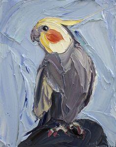 Cockatiel - Jodie Wells