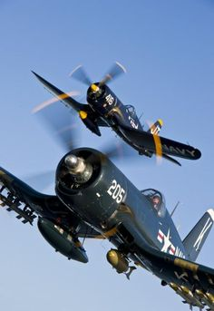 Chance Vought F-4U Corsairs of Classic Fighters of America collection.