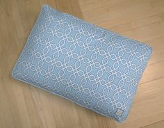 Our new Moroccan Trellis pattern #dogbed! Proves dog beds need not be frumpy, corny, or unsightly!