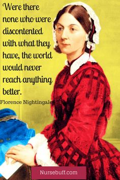 Happy National #NursesWeek! Repin this quote from Florence Nightingale, one of the most influential nurses in history, via @nursecribed.