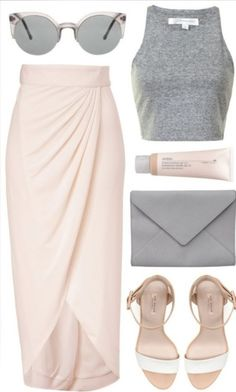 Spring Combinations in Baby Pink