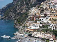 Tô indo para a Itália: Meu relato de viagem - dia 25 - Positano e Amalfi