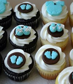 Cute Cupcakes For a Baby Shower 20
