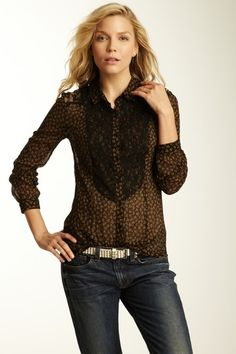 All That Glitters Button Front Top | Free People