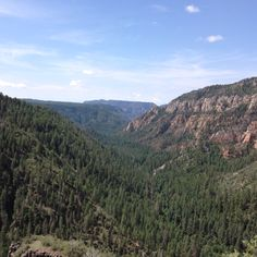 Lookout Point for Oak Creek Canyon