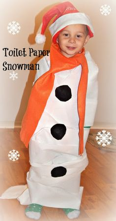 This Ole Mom: Snowman Toilet Paper Idea for Christmas Cards . I used  Cottonelle Clean Care .I used a $3 dollar off coupon. #imabzzagent