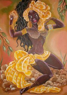 divinemoon:  Okána Iwori History: Pumpkin and Oshun In this path...