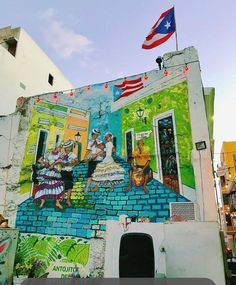 Puerto Rico, Enchanted Island, Urban Street Art, Spanish Art, Famous Places, Beautiful Islands, Around The Worlds, Vacation, Travelling