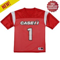 A ShopCaseIH exclusive! Perfect for game days. Case IH Red Zone Jersey | Tees | ShopCaseIH.com