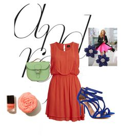 """""""Bez naslova #3"""" by habyosmy ❤ liked on Polyvore featuring VILA, Ted Baker and Brit-Stitch"""