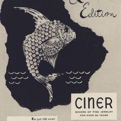 The Ciner jewelry company has been manufacturing AMAZING jewelry for 124 years. Herewith, is a 1947 vintage advertisement for a limited…